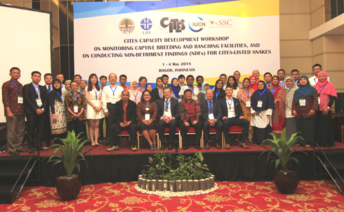 First training workshop in a series kicked off in Indonesia