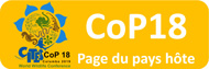 Site du pays hôte CITES CoP18 (externe)