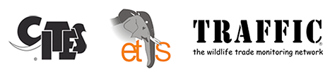CITES, ETIS, TRAFFIC logo
