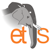 Logo of the Elephant Trade Information System (ETIS)